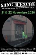 Lancement du Prix Sang d'encre 2020 & du Prix Bulle d'encre 2020 - e édition (21 & 22 novembre 2020)