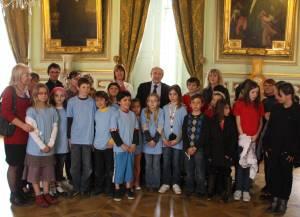 Le conseil municipal d'enfants à Lyon