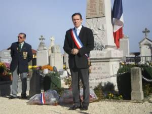 Commémoration du 11 novembre 2010
